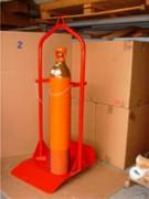 Palette pour bouteille de gaz 4 bouteilles - Stockage de bouteilles de gaz