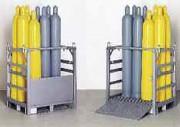 Palette pour bouteilles de gaz - Capacité : 12 bouteilles de 50 Litres