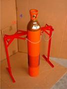 Palette pour bouteilles de gaz sur pied - Assurent le maintient total de vos bouteilles SB06