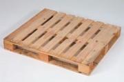 Palettes bois 1250 kg - Palette retour, lourde, de réemploi , 14160, neuve, 15160