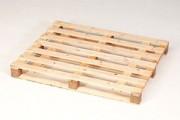 Palettes bois demi-lourde - Palette demi-lourde, de réemploi, avec 5 traverses, 15110
