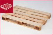 Palettes bois neuves - 3 familles: palettes neuves, de réemploi et moulées