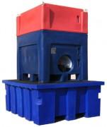 Palettes de rétention pour un conteneur - Type RET 1000