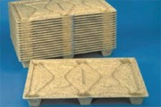 Palettes emboîtables 1200 mm - Palette moulée, F8 LF, 18802