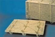 Palettes emboîtables 1200 x 1000 mm - Palette moulée, F10, 18100