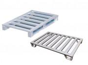 Palettes en alu ou acier inox - Construction à base de profilés