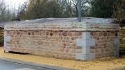 Palissade imitation pierre - Longueurs : 14,00 m - Hauteur : 1.35 m ou sur mesure - Acier
