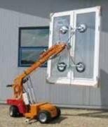 Palonnier à ventouse 608 kg - Capacité allant jusqu'à 608 kg