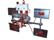 Palonnier à ventouses électrique pour marbre - Capacité : de 50 à 10 000 kg
