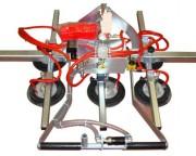Palonnier à ventouses pneumatique 20000 kg - Capacité : jusqu'à 20 000 kg