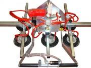 Palonnier à ventouses pneumatique pour tôles - Capacité : de 50 à 20 000 kg