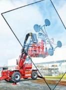 Palonnier à ventouses soulève 400 kg - Autonomie : Jusqu'à 4 heures