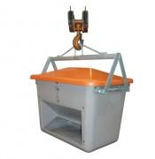Palonnier de levage non basculable - Pour bac à sel de 200 à 700 litres