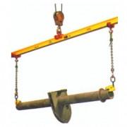 Palonnier monopoutre 1000 à 3000 Kg - Charge maximale utile (kg) : 1000 - 2000 - 3000