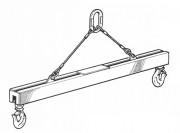 Palonnier réglable 1 à 100 Tonnes - Semi-palonnier