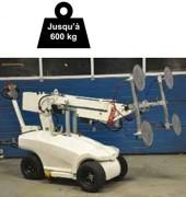 Palonnier ventouse - Capacité de charge : 420 à 600 kg