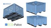 Palox plastique - Eco-palox - charge max : 600 kg