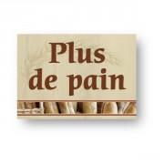 Pancarte boulangerie - EN PVC