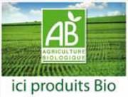 Pancarte produits bio - Dimensions (cm) : 20 x 15 ou 40 x 30
