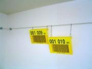 Pancarte signalétique entrepôt personnalisée - Banalisation des emplacements