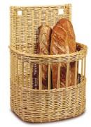 Panier à pain pour boulangerie - Dimensions (L x P x H) cm : 40 x 30 x 65