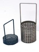 Panier cylindrique pour lavage