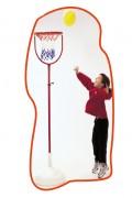 Panier de basket réglable pour enfant - Réglable en 2 hauteurs (m) : 1.40 - 2.60