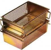 Panier de lavage industriel rectangulaire - Dimensions extérieures (L x l x H) : 410 x 245 x 130 mm