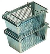 Panier de lavage perforé industriel - Dimensions extérieures (L x l x H) : 310 x 200 x 150 mm
