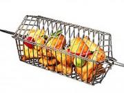 Panier de rotisserie pour barbecue - Dimensions (L x l) : 35 x 43 cm