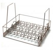 Panier de trempage à système de pivotement - En acier, en inox ou autre matière selon le besoin