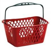 Panier libre service en plastique recyclé - Capacité de charge : 33 litres
