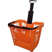 Panier magasin à roulettes - Capacité de charge : 45 litres