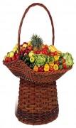 Panier pour fruits en osier - Dimensions (L x P x H) cm :120 x 80 x 160