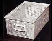 Paniers de lavage en tôles - panier de lavage en tôle perforée