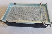 Paniers de lavage industriel - En inox maille : 7 et 13 mm