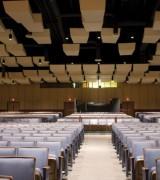 Panneau acoustique plafond - Dalle carrée ou Baffle