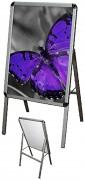 Panneau affichage aluminium simple face - Dimensions : 500 x 700 mm