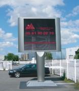 Panneau affichage électronique 2304 x 2304 mm - FUZO LED 5m² - Format d'affichage 2304x2304mm