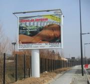Panneau affichage publicitaire - Panneau double face