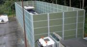 Panneau anti bruit exterieur - Hauteur pouvant atteindre 5 mètres