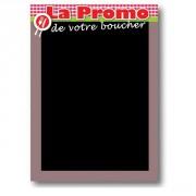 Panneau ardoisé de promotion boucherie - Vendue à l'unité - 50 x 70 cm