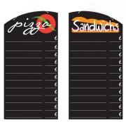 Panneau ardoise pour restaurant - Dimensions (cm) : 60 x 30