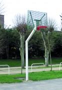 Panneau basket caillebotis