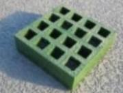 Panneau caillebotis vert - Dimension : 3000  x 1000 x 30 mm