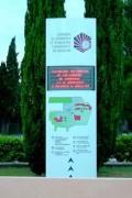 Panneau d'accueil pour zone etudiante - Lisibilité de 1 m à 5 m