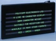 Panneau d'affichage électronique haute luminosité - Intérieur ou extérieur