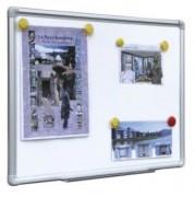 Panneau d'affichage en tôle d'acier - 4 tailles - Surface émaillée - Magnétique