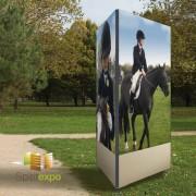 Panneau d'affichage pour extérieur - Hauteur totale : 2,30 m