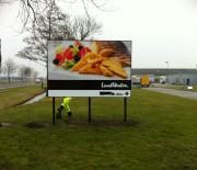 Panneau d'affichage publicitaire - Attire l'attention du consommateur